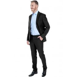 Пиджак мужской slim fit «El-Risto» black (черный)