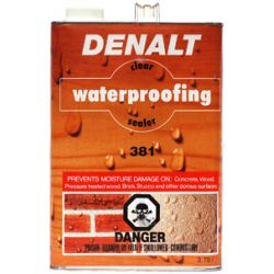 381 Clear Waterproofing Sealer